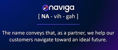Naviga: a new name for the next step in our journey